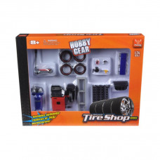 Tire Repair Shop Accessories Set Ford 1/24 Diecast Model Cars by Phoenix Toys