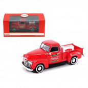 1953 Chevrolet Pickup Truck with Metal Cooler Coca Cola 1/43 Diecast Model by Motorcity Classics