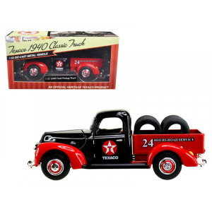 """1940 Ford Pickup Truck Texaco"""" with Tires 1/32 Diecast Model Car by Beyond The Infinity"""""""