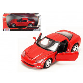 2005 Chevrolet Corvette C6 Coupe Black 1/24 Diecast Car Model by Motormax