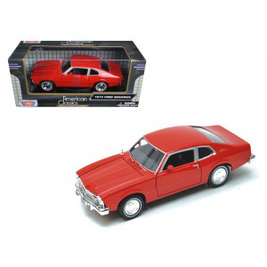1974 Ford Maverick Black 1/24 Diecast Car Model by Motormax