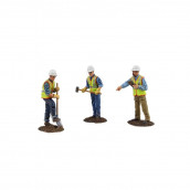 Diecast Metal Construction Figures 3pc Set #2 1/50 by First Gear
