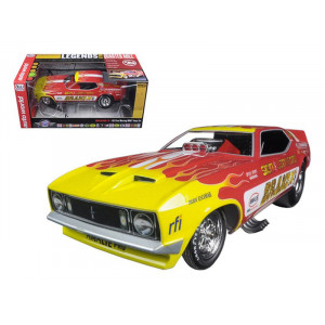 1973 Ford Mustang Brand X Sien & Lankford Rudy Escobar Funny Car Limited Edition to 750pcs 1/18 Model Car by Autoworld