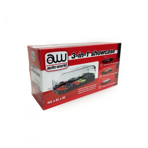 Collectible Display Show Case for 1/64 1/43 1/24 Diecast Models by Autoworld