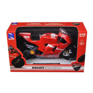 Ducati Desmosedici #69 GP 2009 Nicky Hayden Bike Motorcycle 1/12 by New Ray