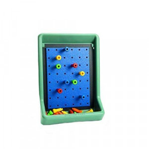 PEG ACTIVITY BOARD - TEAL GREEN
