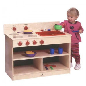 Toddler 2-In-1 Kitchen Center