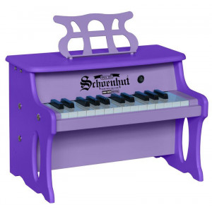 Schoenhut 25 Key Two Toned Purple Digital Table Top - 2 tone Purple