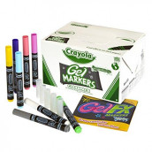 Crayola Gel FX Washable Markers 80 ct. 10 Each of 8 Different Colors