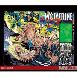 WOLVERINE 100TH ISSUE W/ HOLOGRAM COVER