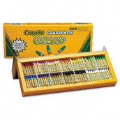BINNEY & SMITH Oil pastels classpack, jumbo-sized stick w/tapered point, 336/pack