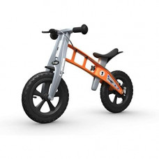 FirstBIKE Cross Balance Bike with Brake, Orange - for Kids & Toddlers Ages 2,3,4,5
