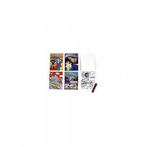 """White Newprint Paper with Blue Margin - 8 1/2"""" x 11"""" (1/2"""" Margin) - Ream of 500 Sheets"""