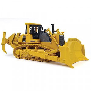First Gear 1/50 Scale Diecast Collectible Komatsu D375A Crawler with Blade & Ripper (#50-0216)