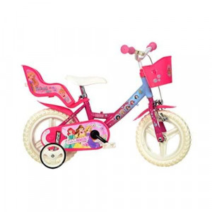 Dino Bikes 124RL-PSS 12-Inch Disney Princess Bicycle