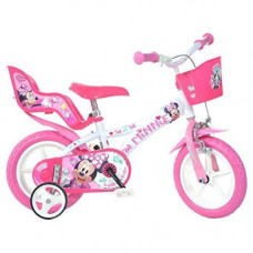 Dino Bikes 612L-NN Mouse Minnie Bicycle, 12-Inch
