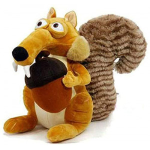 TOBABYFAT Animal Doll Ice Age Scrat Squirrel Stuffed Plush Toy Baby Xmas Gifts (Squirrel)
