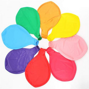 36 Inch Giant Latex Jumbo Balloons, 8 Pack 36'' Assorted Colors large Balloons for Photo Shoot/Birthday/Wedding Party/Festival/Event/Carnival Decorations, Mix Color (Premium Helium Quality) ?