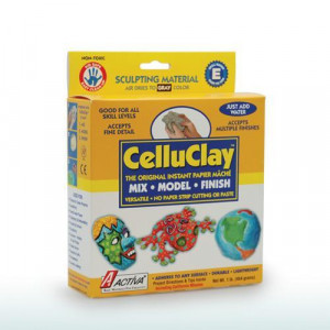 ACTIVA 1 lb. Package of Gray CelluClay