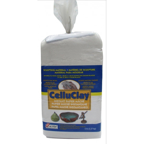 ACTIVA 5 lb. Package of White CelluClay