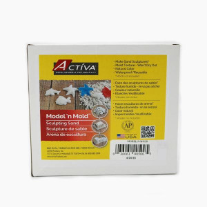 ACTIVA Model 'N Mold Sculpting Sand 3 lb Model 'N Mold