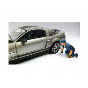 Tow Truck Driver Operator Scott Figure For 1:18 Scale Diecast Car Models by American Diorama