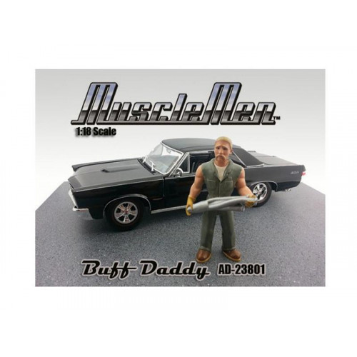 Musclemen Buff Daddy Figure For 1:18 Diecast Car Models By American Diorama