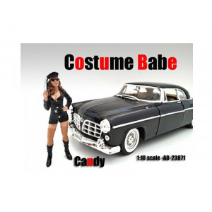 Costume Babe Candy Figure For 1:18 Scale Models By American Diorama