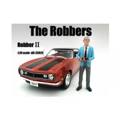The Robbers Robber I Figure For 1:24 Scale Models By American Diorama