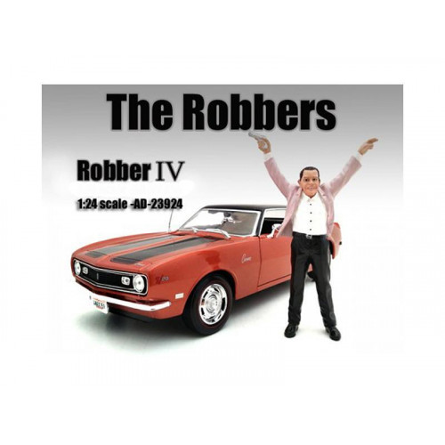The Robbers Robber Iii Figure For 1:24 Scale Models By American Diorama