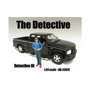 The Detective #2 Figure For 1:24 Scale Models By American Diorama