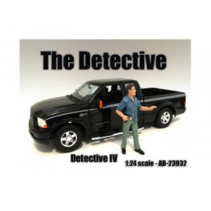 The Detective #3 Figure For 1:24 Scale Models By American Diorama