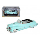 1947 Cadillac Series 62 Light Blue Convertible 1/32 Diecast Car Model by Signature Models
