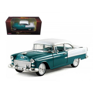 1955 Chevrolet Bel Air Green 1/32 Diecast Car Model by Arko Products