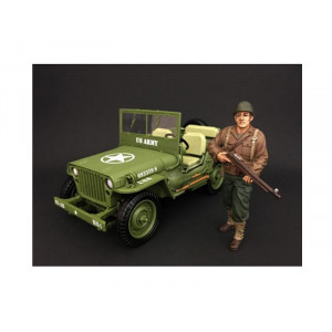 US Army WWII Figure II For 1:18 Scale Models by American Diorama