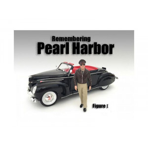 Remembering Pearl Harbor Figure I For 1:18 Scale Models By American Diorama