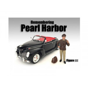 Remembering Pearl Harbor Figure III For 1:18 Scale Models by American Diorama