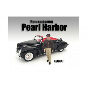 Remembering Pearl Harbor Figure I For 1:24 Scale Models by American Diorama