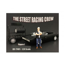 The Street Racing Crew Figure I For 1:24 Scale Models by American Diorama