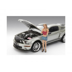 Female Monica Figure For 1:18 Diecast Model Cars by American Diorama