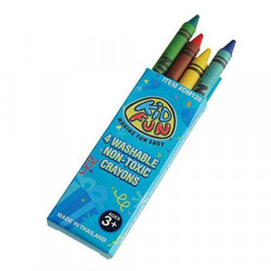 US Toy Crayon Boxes (4 count)