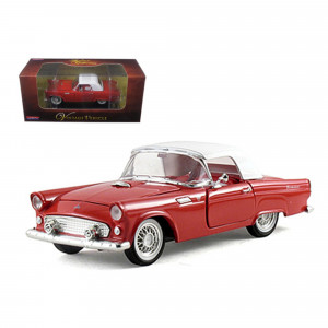 1955 Ford Thunderbird Hardtop Red 1/32 Diecast Car Model by Arko Products 05511r