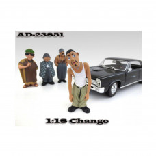 Chango Homies Figurine For 1:18 Scale Diecast Model Cars by American Diorama 23851