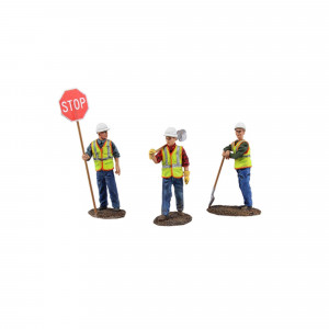 Diecast Metal Construction Figures 3pc Set #1 1/50 by First Gear 90-0480