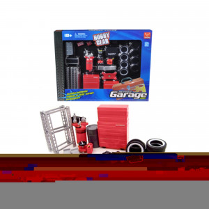 Garage Accessories Tool Set for 1/24 Scale Model Cars by Phoenix Toys 18420
