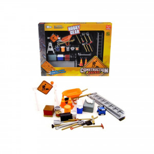 Construction Accessories Set For 1/24 Diecast Car Models by Phoenix Toys 18425