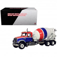 Mack Granite MP Concrete Mixer 1/34 Diecast Car Model by First Gear 10-3995