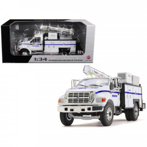 Ford F-650 Komatsu with Maintainer Service Body 1/34 Diecast Model Car by First Gear 10-4108