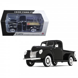 1940 Ford Pickup Truck Black 1/25 Diecast Model Car by First Gear 49-0393