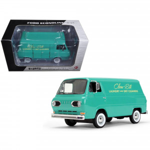 1960's Ford Econoline Van Clean-Rite Laundry and Dry Cleaners 1/25 Diecast Model Car by First Gear 49-0399